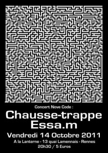Affiche Chausse-Trappe & Essa.m