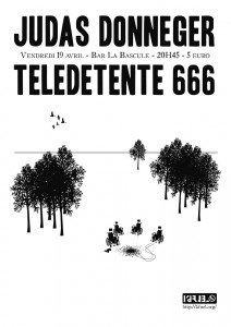 Judas Donneger / Teledetente 666